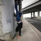Cement Handstand